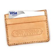 Old World Handmade Leather Credit Card Holder