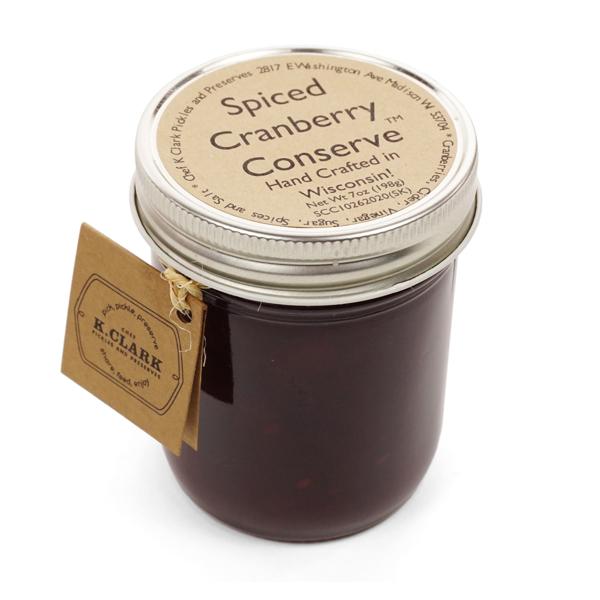 Spiced Cranberry Conserve
