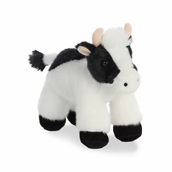 Mini Moo Stuffed Cow Toy
