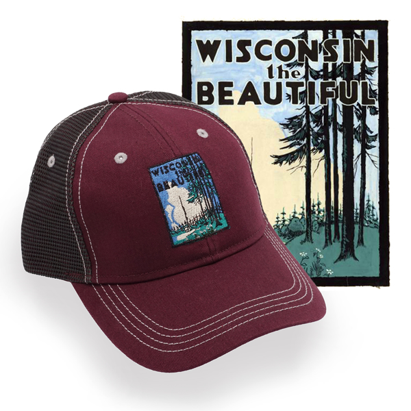 Picture of Wisconservation Cap - Maroon