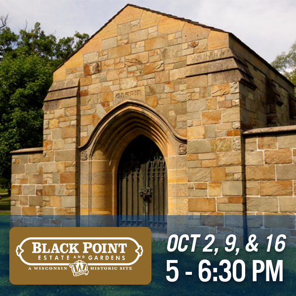 Black Point Estate & Gardens | October 2, 9,  & Sep 16 | 5 - 6:30pm