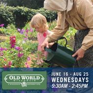 Old World Wisconsin | June 16 - Aug 25 | Wednesdays | 9:30 AM - 2:45 PM