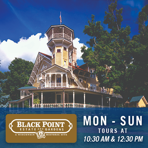 Black Point Estate & Gardens | Mon - Sunday | 10:30 AM and 12:30 PM