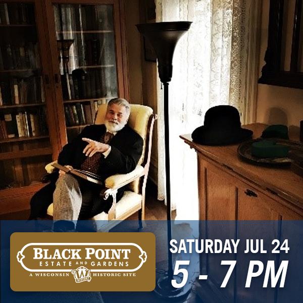 Black Point Estate & Gardens   Saturday July 24, 5-7pm
