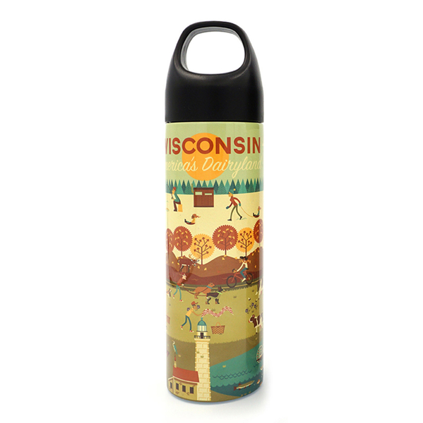 Picture of America's Dairyland Water Bottle