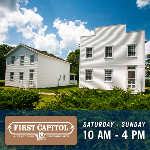 First Capitol, Saturday and Sunday, 10am-4pm