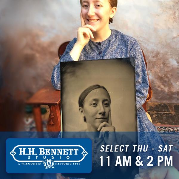 H.H. Bennett Studio & Museum, Select Thurs-Sat, 11am and 2pm
