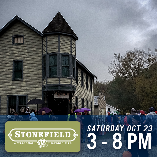 Stonefield, Saturday Oct 23, 3 - 8 pm