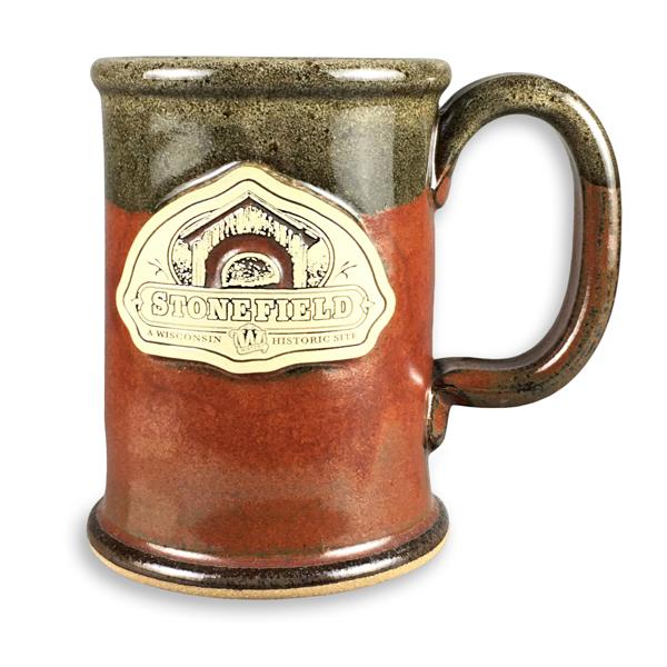 Stonefield Mug - Brick Red